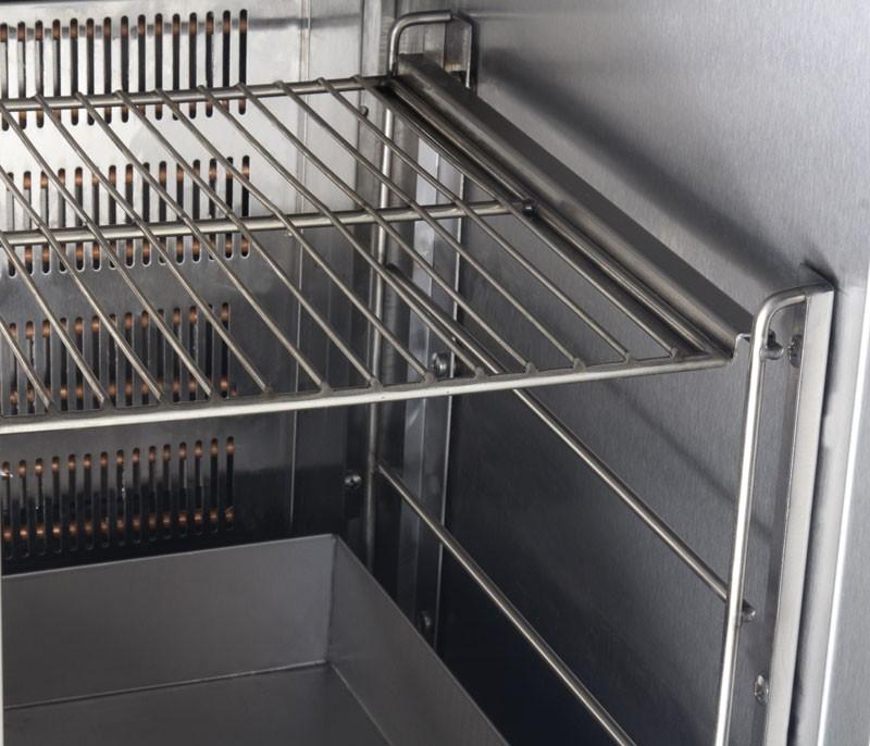 Холодильный стол для пиццы КИЙ-В СХ-МБ 1500х700